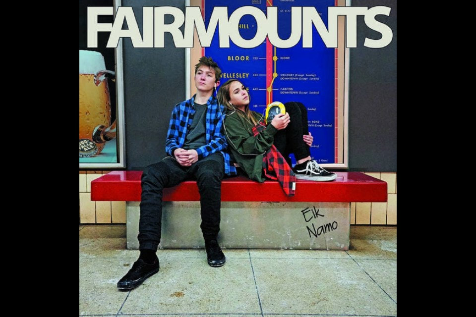 The cover of Fairmounts' new record, Eik Namo. Image provided
