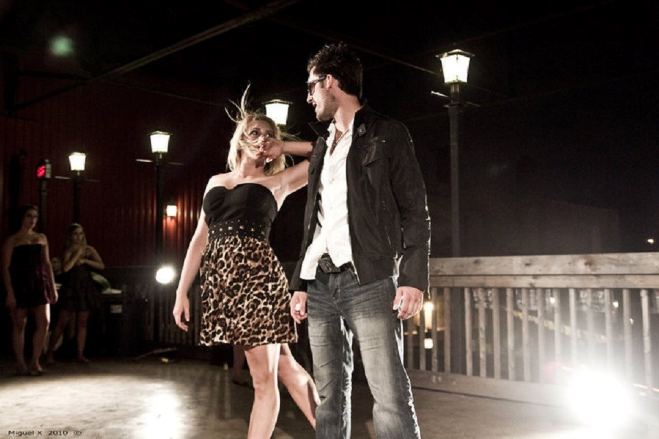 Ryan Byrne in a still from 'The Summer Nights' music video.