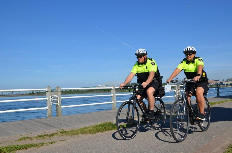 bicycle patrol