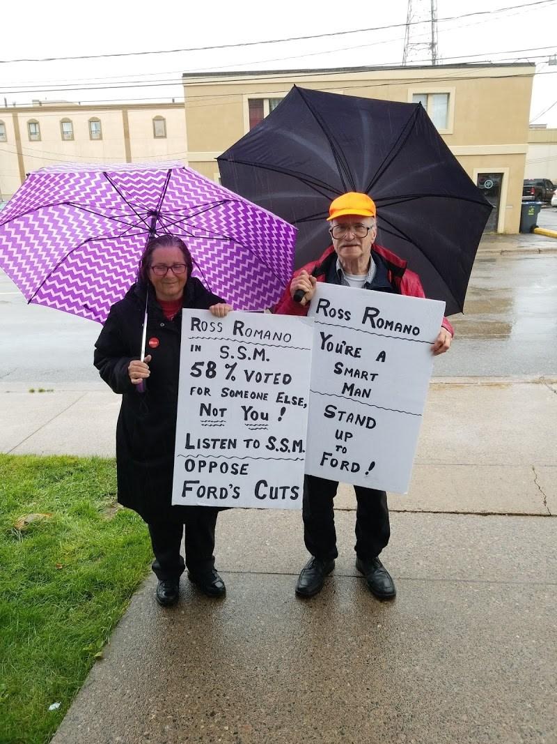Bill 47 Protestors