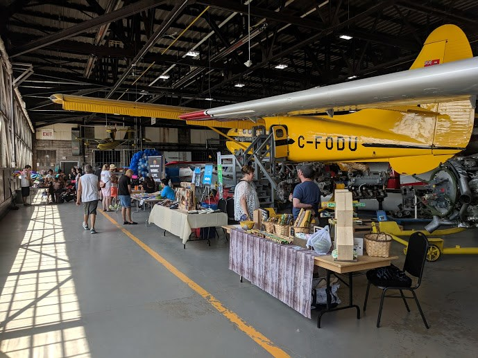 Sault Pridefest kicks off the week  Sunday with a family fun Loud & Proud day at the Canadian Bushplane Heritage Centre