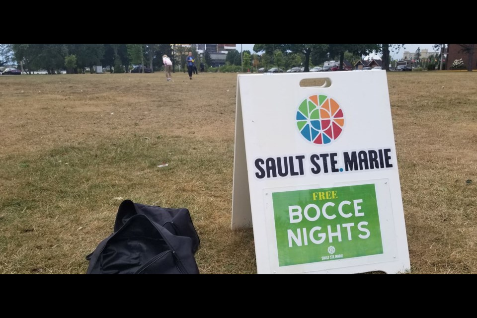 The City of Sault Ste. Marie has hosted free bocce on Monday nights throughout the summer and this Monday was their send off game at Clergue Park