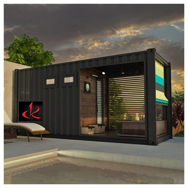 Rendering of a sauna, manufactured from shipping containers (or 'pods'), one of several possibilities for such containers becoming popular and soon to be for lease or sale by the Sault's DK Designs Consulting Inc. Photo supplied