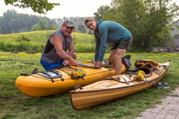 Father-son team kayaking Lake Superior for a worthy cause thumbnail