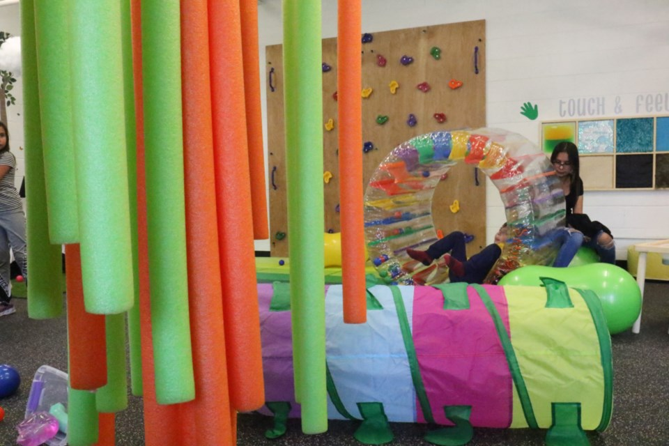 The new sensory rooms were opened officially in September. James Hopkin/SooToday