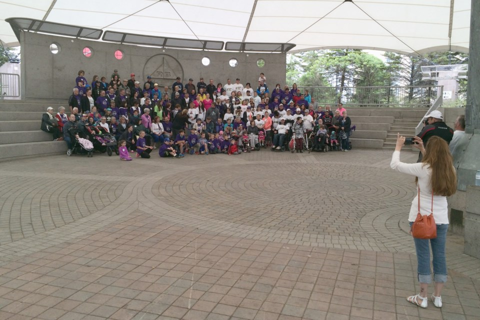 This year's Sault Ste. Marie Walk for ALS exceeded its $15,000 fund-raising goal by almost $6,000.