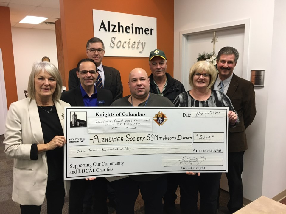 2019-11-26 KC Alzheimer Society donation