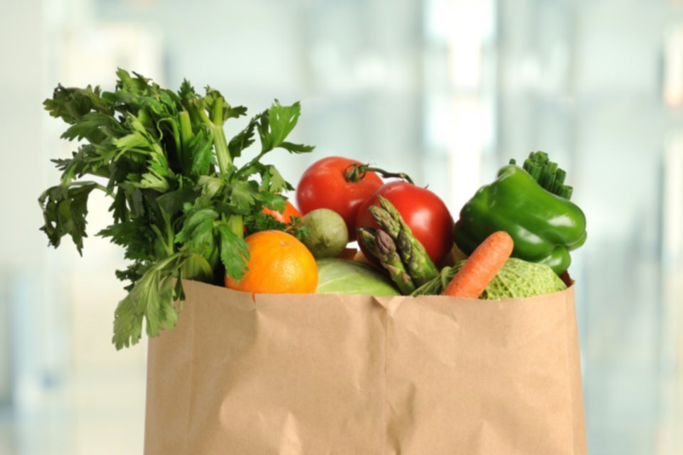groceries-vegetables-paper-bag-stock