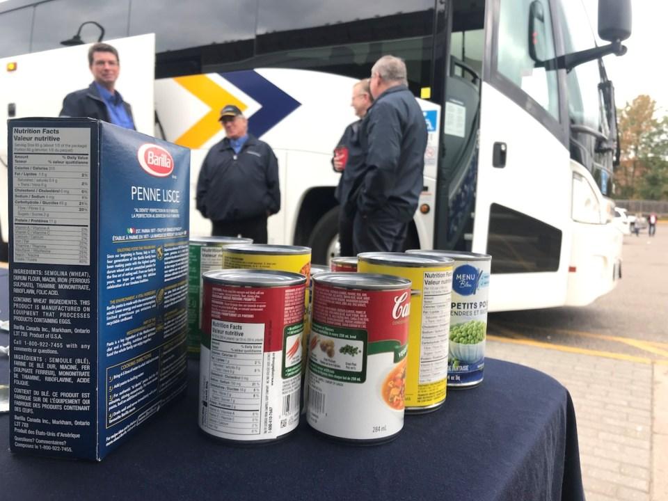 2019-10-08 Ontario Northland Stuff the Bus