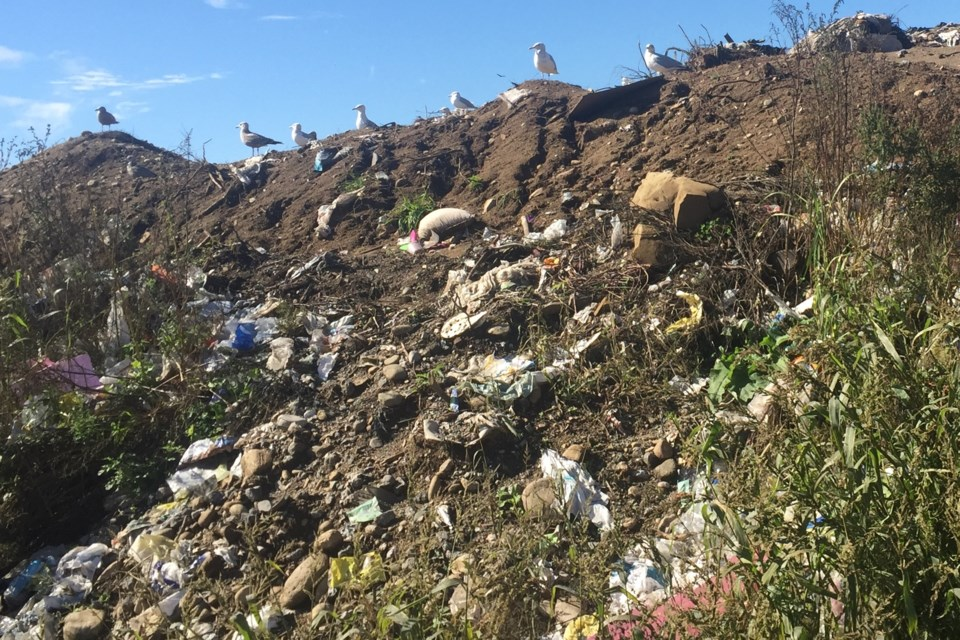 Sault Ste. Marie landfill at 402 Fifth Line E. File photo by David Helwig/SooToday
