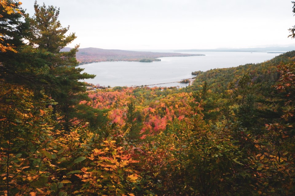 Hiking to the Havilland Bay lookout. Donna Hopper/SooToday