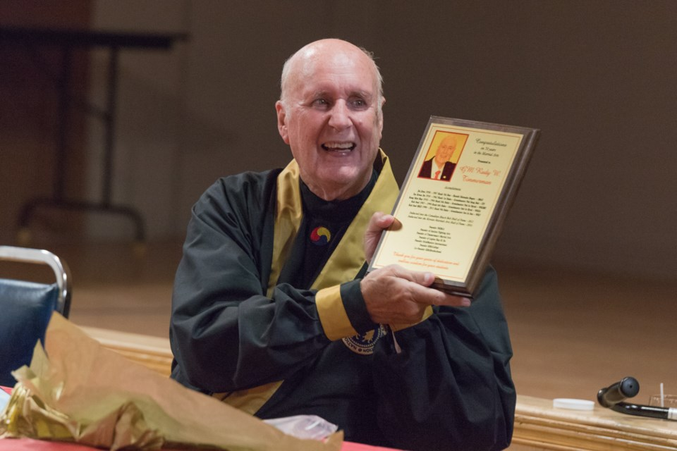 Grandmaster Timmerman.  Violet Aubertin for SooToday