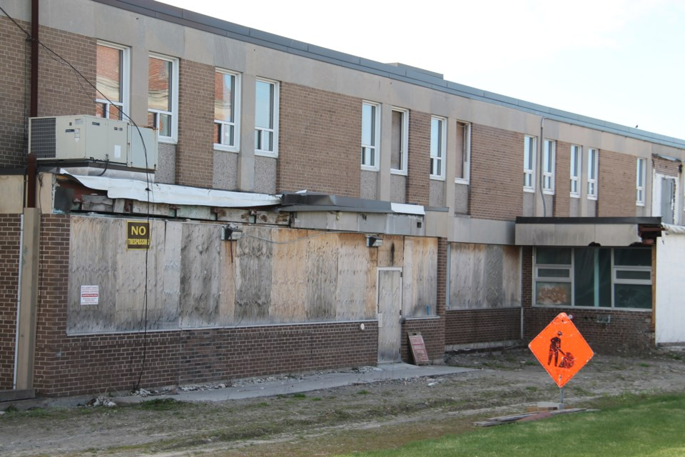 Further development of Riverwalk Condominiums on the old Sault Area Hospital site has been put on hold due to local economic conditions, says the project's developer, May 5, 2017.  Darren Taylor/SooToday