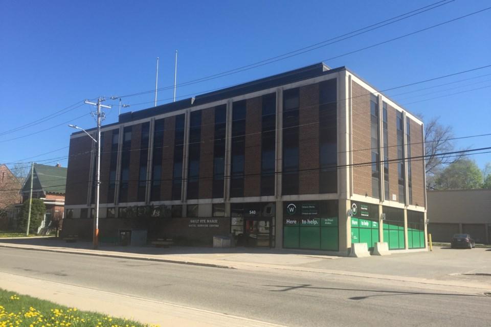 Ontario Works building at 540 Albert Street East. David Helwig/SooToday