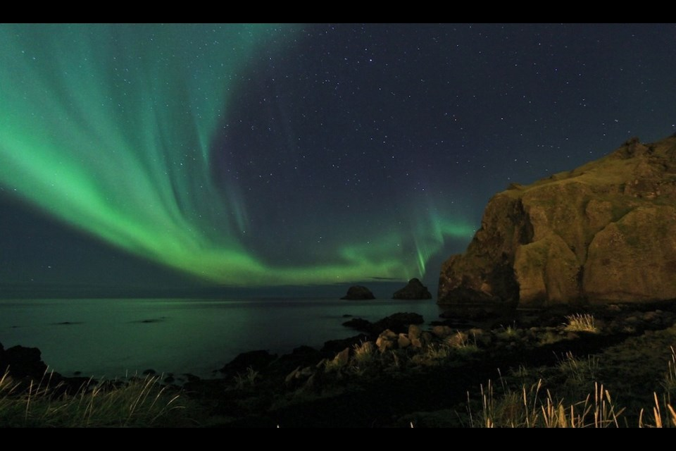 We know about space weather as it causes the Northern Lights.  Photo courtesy of Ruth Zolen