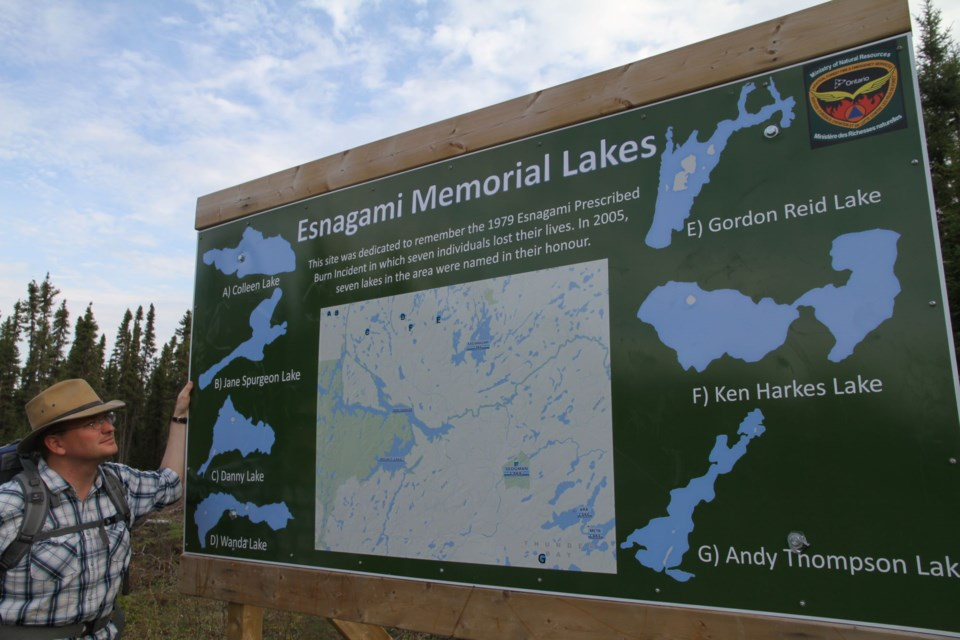 Post-fire tragedy, seven lakes were names for the young people who perished in the prescribed burn.
