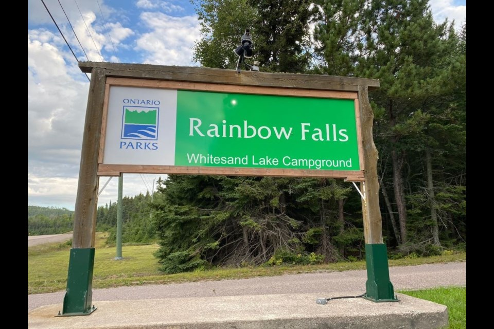 Christine Calayca went missing somewhere near or within Rainbow Falls Provincial Park - most likely a lost person profile.