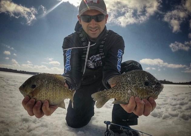 19-02-21 Outdoors in Algoma Bluegill Ice Fishing