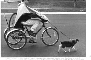 Dogs and their people back in the day <b>(11 photos)</b>