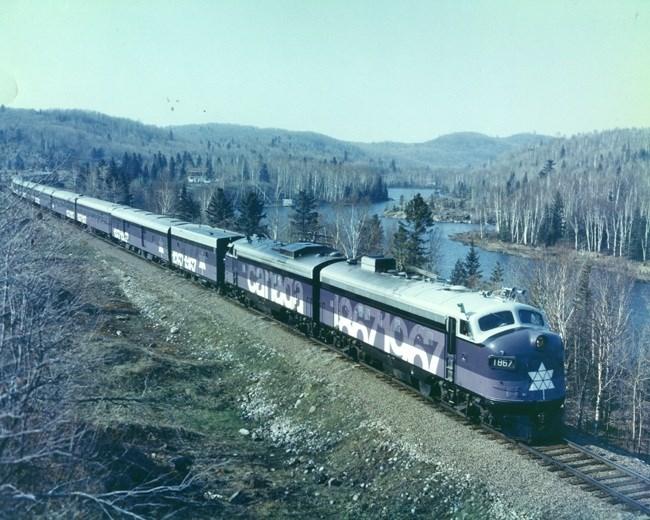 Centennial Train1