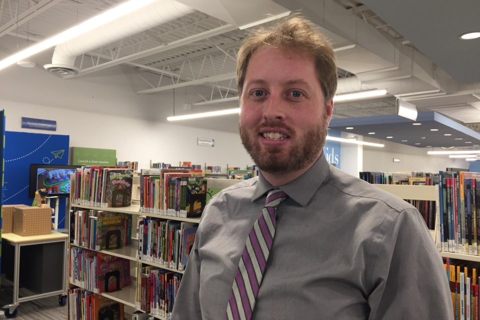 Matthew MacDonald was appointed tonight as CEO and director of libraries. David Helwig/SooToday