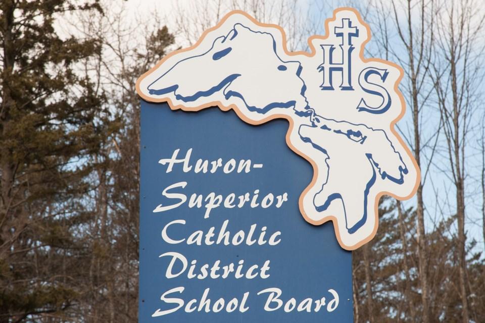 20160328 Huron-Superior Catholic District School Board Sign KA 02