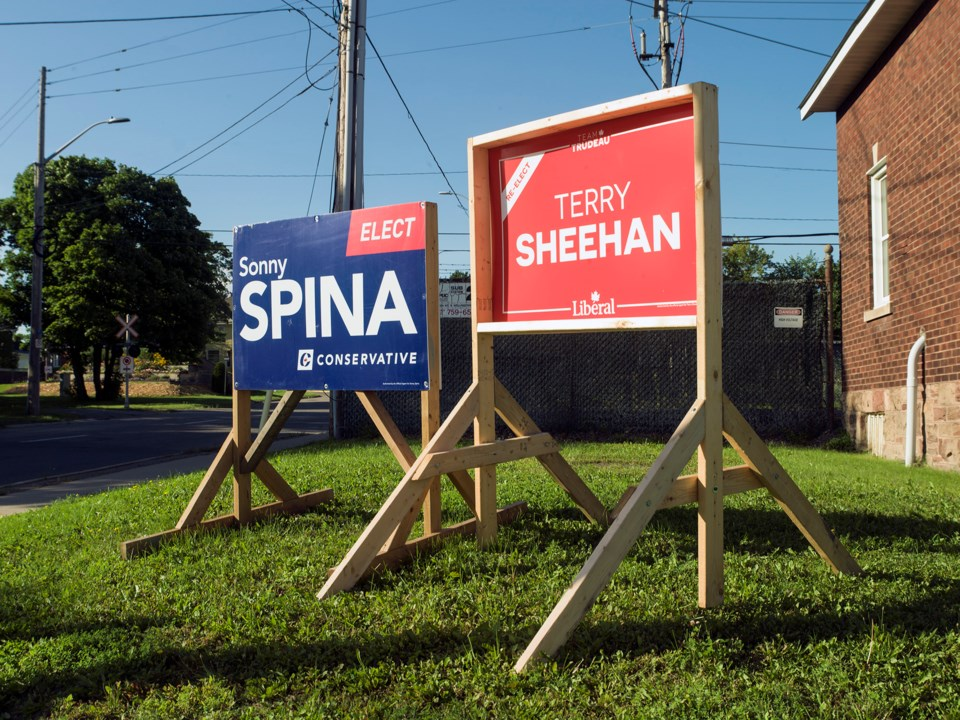 20210816 Sonny Spina Terry Sheehan Election Signs KA
