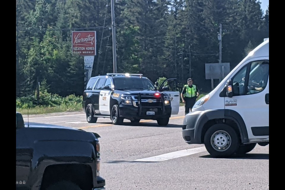 Highway 17 has been closed in both directions near Heyden due to a crash.