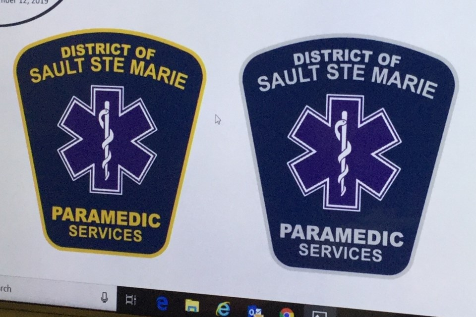 Nov 2019 paramedic patches
