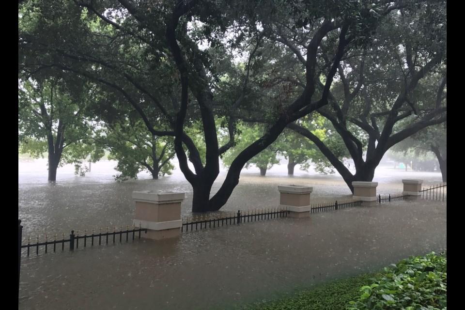 Buffalo Bayou - 8 foot fence. Supplied photo