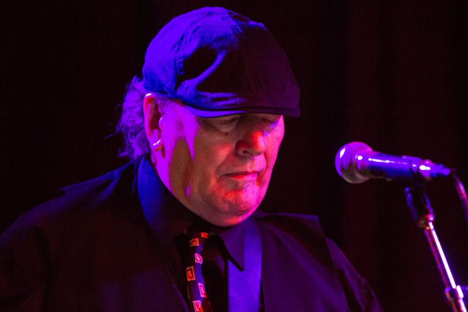 Rusty McCarthy at the 8th annual Blues For Food Soup Kitchen fundraiser at the Water Tower Pub on Saturday, Dec. 16, 2017. Donna Hopper/SooToday