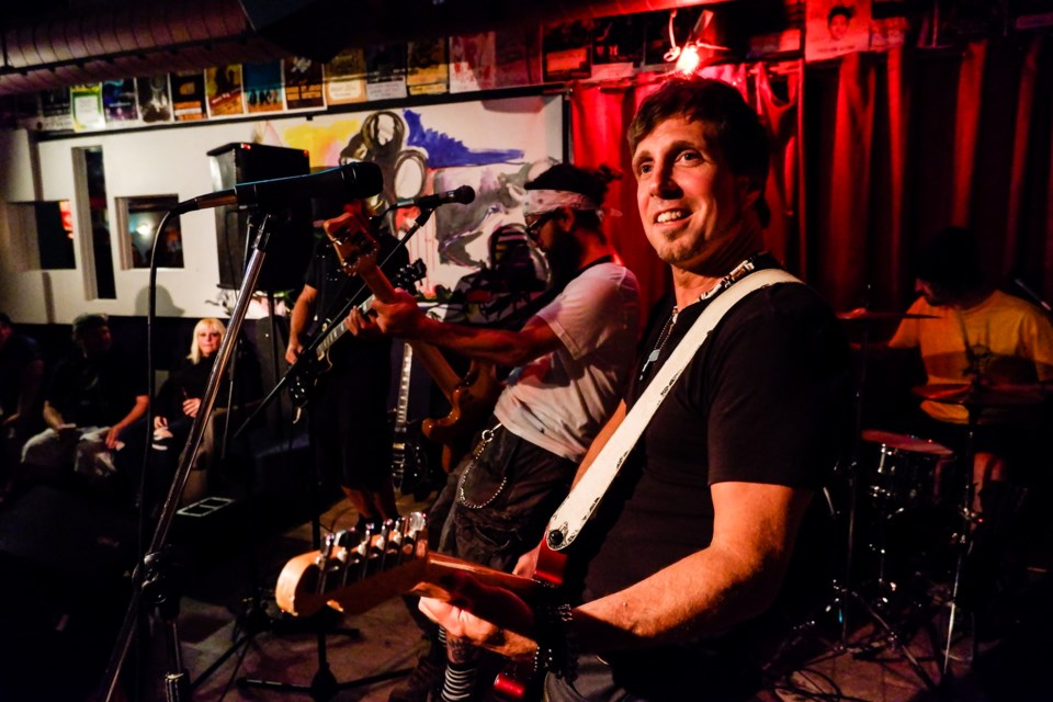 The Inner City Surfers celebrated their 20th anniversary with the band's first show in almost a decade at Loplops on Saturday, Aug. 3, 2019. Donna Hopper/SooToday