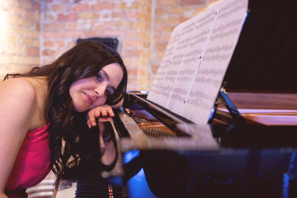 Melody Moffatt, Sault classical pianist. Photo supplied by Shaylan Spurway Photography