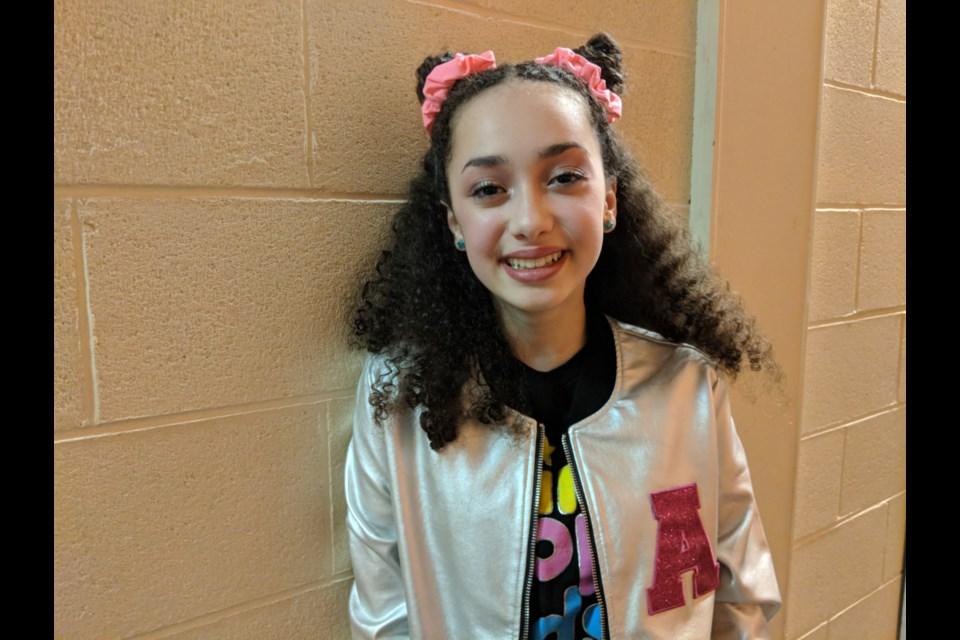 Mini Pop Kids performer Avery Da Cunha, Jan. 18, 2020. Darren Taylor/SooToday
