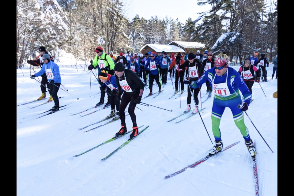 All ages enjoyed cross country skiing, fat biking and snowshoeing to mark World Snow Day and the annual Hiawatha SnowFest, Jan. 19, 2020. Darren Taylor/SooToday
