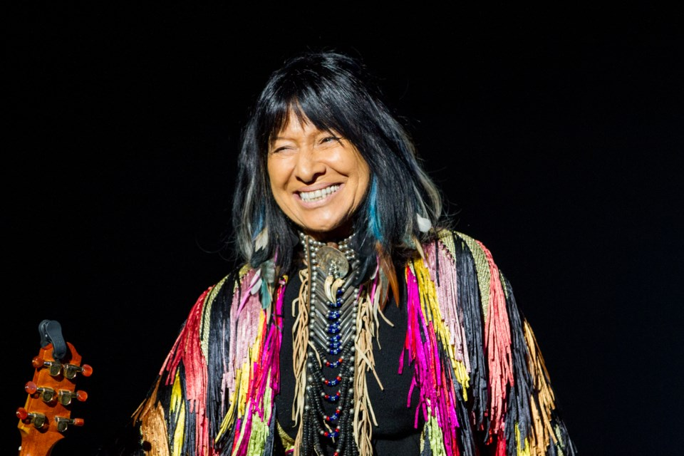 The Algoma Fall Festival hosted Buffy Sainte-Marie at the Kiwanis Community Theatre Centre on Tuesday, October 4, 2016. Donna Hopper/SooToday