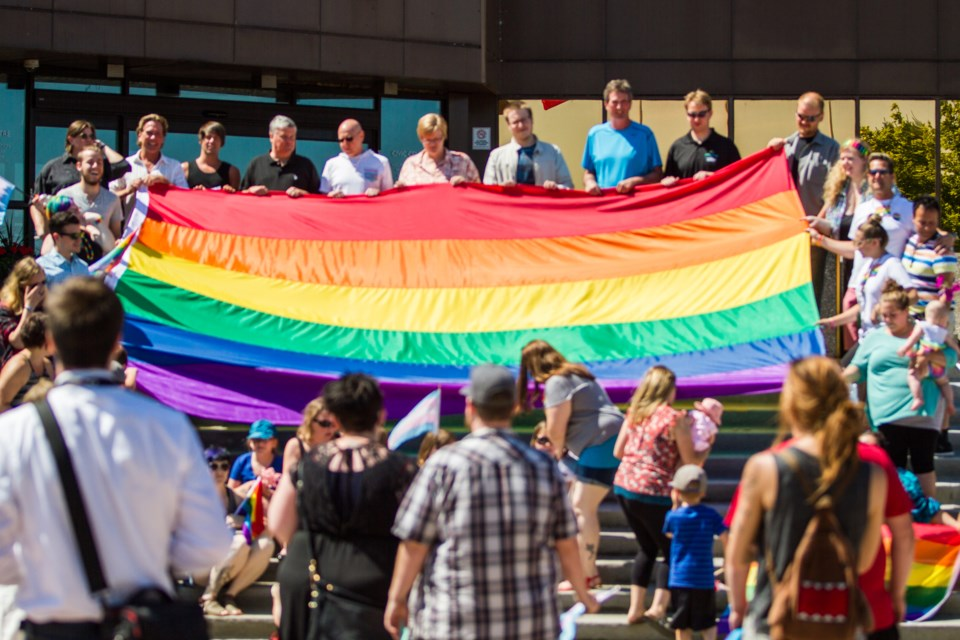 2016-07-23 Pride Flag Raising DMH-13