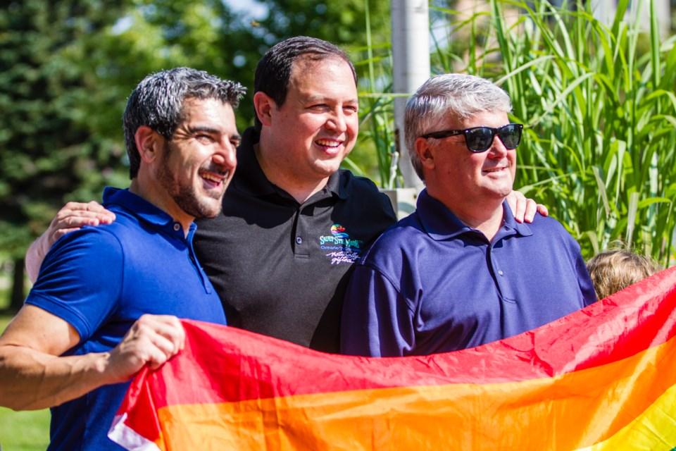 2017-09-16 Pride Flag Raising DMH-2