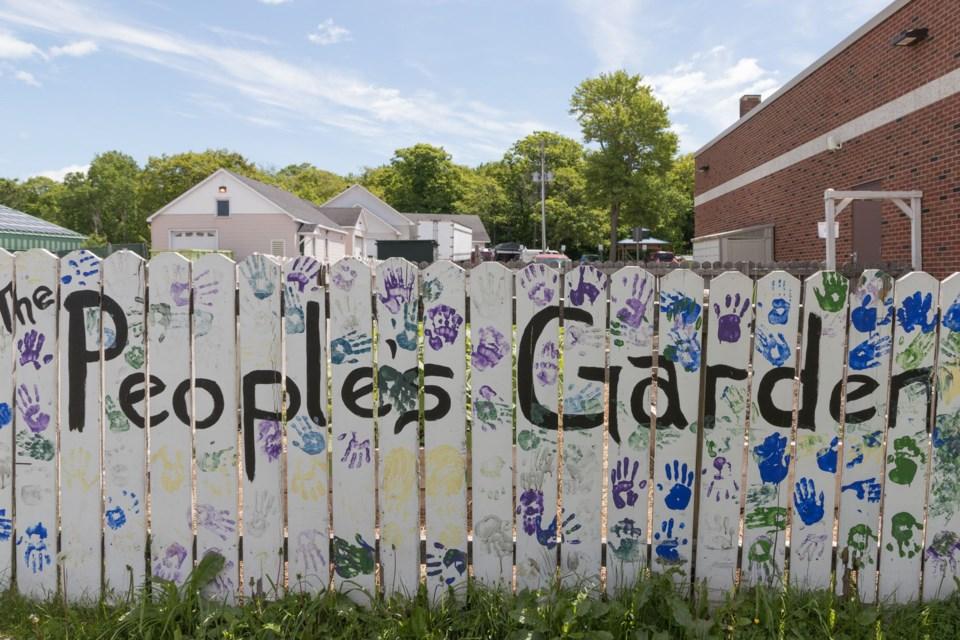 Algoma University Student Union's People's Garden. Violet Aubertin for SooToday
