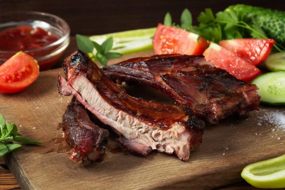 Adobestock Barbecue ribs