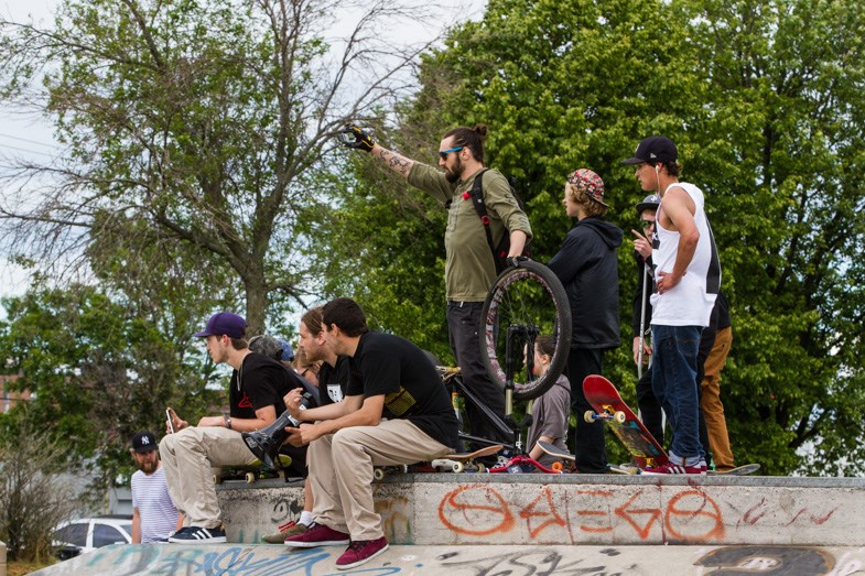 Skaters of all ages and skill levels came out for Go Skate Day presented by Tidal Records on Sunday, June 21, 2015. Donna Hopper/SooToday