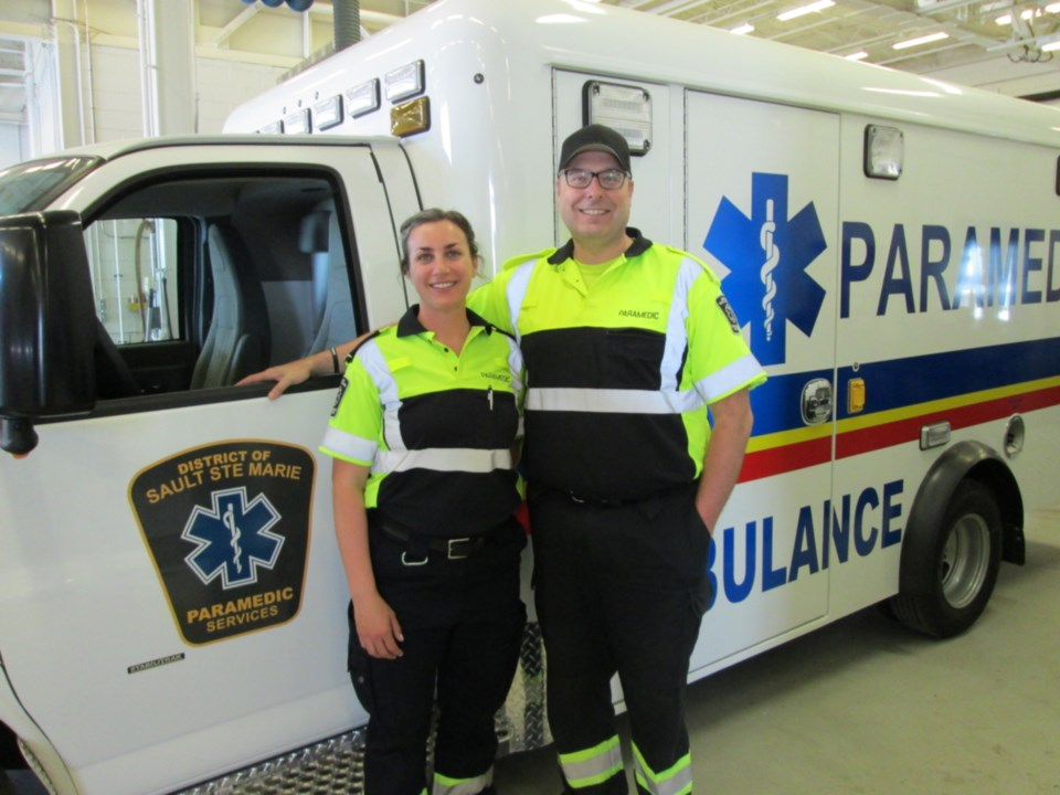 20200527-EMS paramedics Cathy Marshall and Kevin Mitchell photo supplied