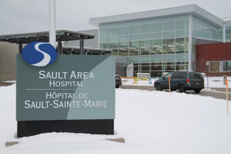 20190117-Sault Area Hospital winter file photo-DT