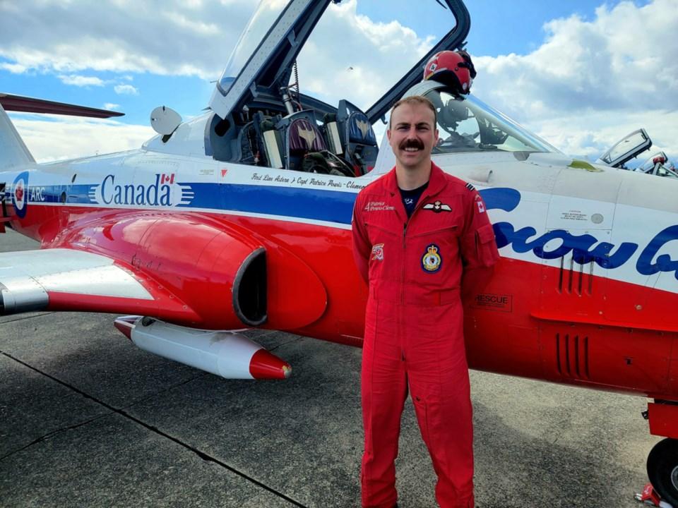 20210507-Captain Patrice Powis-Clement, St. Joseph Island Snowbirds pilot photo supplied