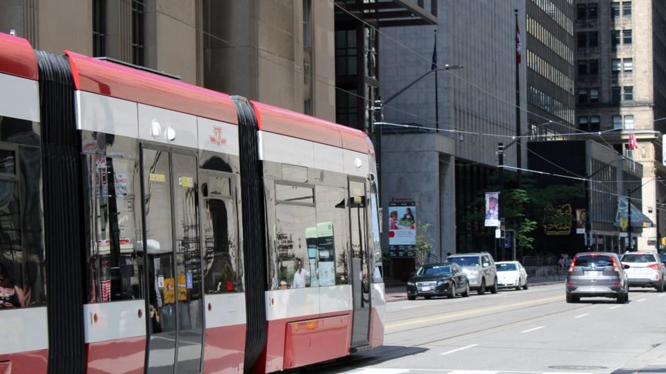 Bombardier Streetcar Toronto