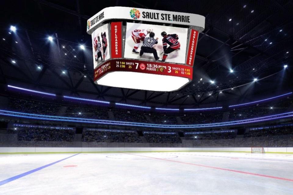 GFL video scoreboard