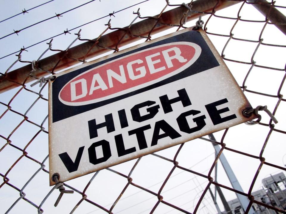 Danger High Voltage 3 MP