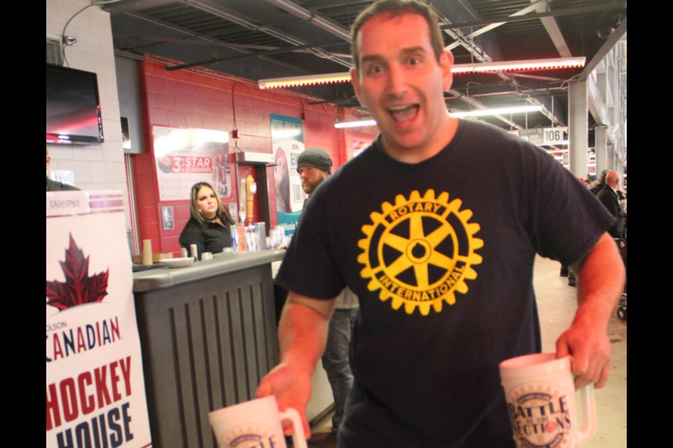 Paul Walz says he's passionate about Rotary. Photo supplied