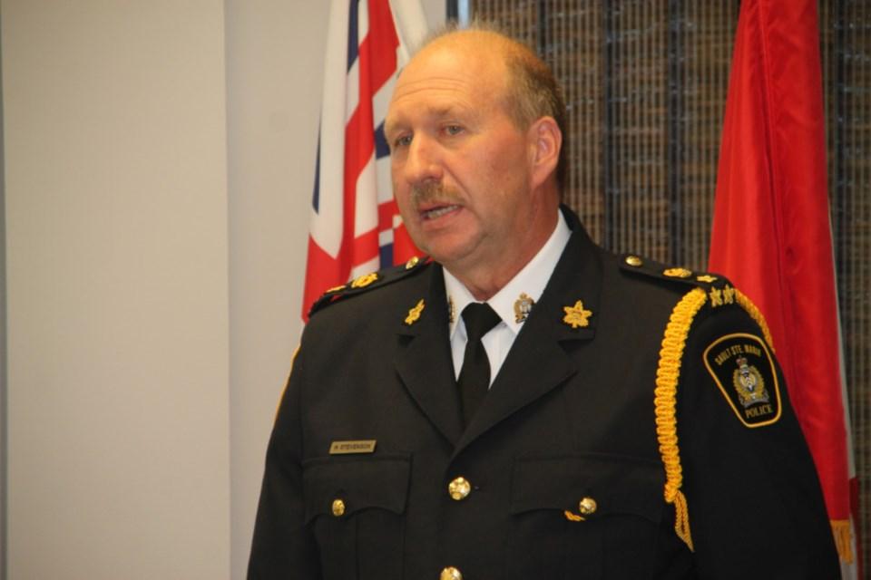 20180628-Sault Ste. Marie Police Chief Hugh Stevenson-DT