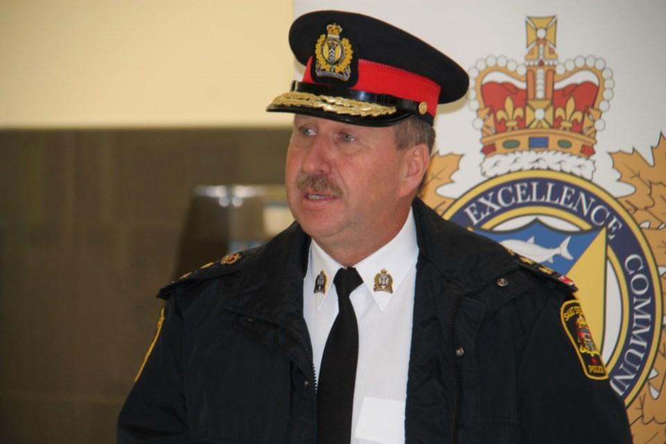 20181012-Sault Police Chief Hugh Stevenson-DT